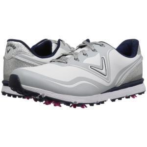 キャロウェイ レディース スニーカー シューズ・靴 Halo White/Navy|fermart-shoes