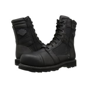 ハーレーダビッドソン レディース ブーツ シューズ・靴 Boxbury Composite Toe Black|fermart-shoes