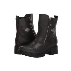 ハーレーダビッドソン レディース ブーツ シューズ・靴 Amherst Black|fermart-shoes