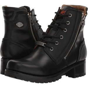 ハーレーダビッドソン レディース ブーツ シューズ・靴 Asher Black|fermart-shoes