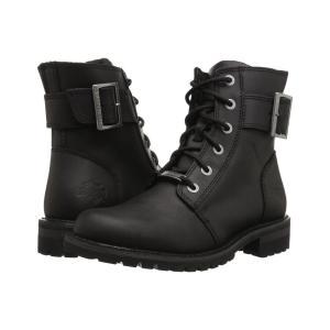 ハーレーダビッドソン レディース ブーツ シューズ・靴 Sylewood Black|fermart-shoes