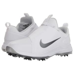 ナイキ メンズ シューズ・靴 ゴルフ Tour Premier White/Metallic Cool Grey/Black|fermart-shoes