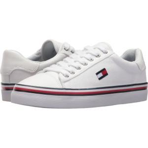 トミー ヒルフィガー レディース スニーカー シューズ・靴 Fressian White Multi Fabric|fermart-shoes
