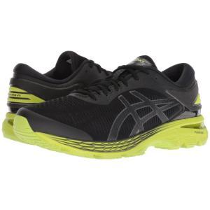 アシックス ASICS メンズ シューズ・靴 ランニング・ウォーキング GEL-Kayano 25 Black/Neon Lime|fermart-shoes