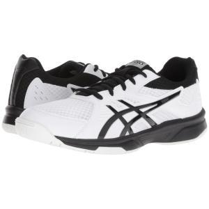 アシックス メンズ シューズ・靴 バレーボール Gel-Upcourt 3 White/Black|fermart-shoes