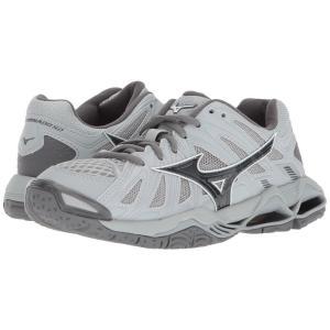 ミズノ レディース シューズ・靴 バレーボール Wave Tornado X2 Grey|fermart-shoes