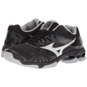 ミズノ レディース シューズ・靴 バレーボール Wave Bolt 7 Black/Silver|fermart-shoes