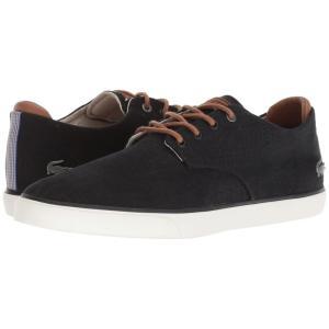 ラコステ Lacoste メンズ スニーカー シューズ・靴 Esparre 318 3 Black/Tan|fermart-shoes