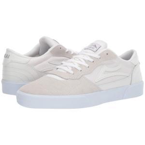 ラカイ Lakai メンズ シューズ・靴 Cambridge White/White Suede|fermart-shoes