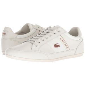 ラコステ Lacoste メンズ スニーカー シューズ・靴 Chaymon 318 7 U Off-White/Off-White|fermart-shoes