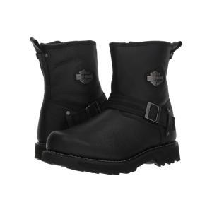 ハーレーダビッドソン Harley-Davidson メンズ ブーツ シューズ・靴 Richton Black|fermart-shoes