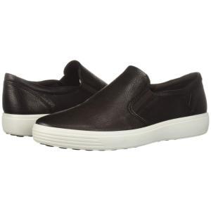エコー ECCO メンズ スニーカー シューズ・靴 Soft 7 Casual Loafer Mocha Cow Leather|fermart-shoes