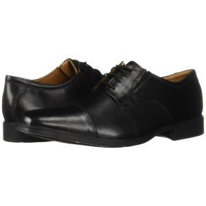 クラークス メンズ 革靴・ビジネスシューズ シューズ・靴 Tilden Cap Black|fermart-shoes