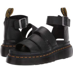 ドクターマーチン Dr. Martens レディース サンダル・ミュール シューズ・靴 Clarissa II Quad Shore Black|fermart-shoes