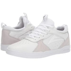 ラカイ Lakai メンズ スニーカー シューズ・靴 Proto White/White Suede|fermart-shoes