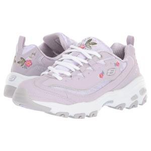 スケッチャーズ SKECHERS レディース スニーカー シューズ・靴 D'Lites - Bright Blossom Lavendar|fermart-shoes