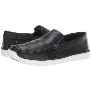 ハッシュパピー Hush Puppies メンズ スニーカー シューズ・靴 Toby Venetian Black Leather|fermart-shoes
