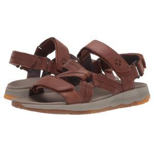 ハッシュパピー Hush Puppies メンズ サンダル シューズ・靴 Puli BackStrap Saddle Brown Leather fermart-shoes