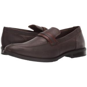 ハッシュパピー Hush Puppies メンズ スリッポン・フラット シューズ・靴 Advice MT Slip-On Dark Brown Leather fermart-shoes