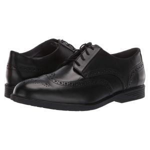 ハッシュパピー Hush Puppies メンズ 革靴・ビジネスシューズ シューズ・靴 Shepsky Wing Tip Oxford Black Leather fermart-shoes