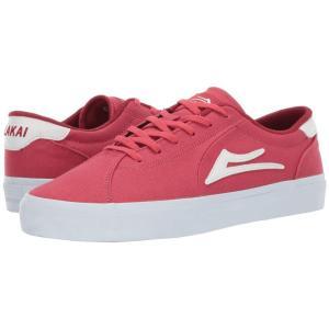 ラカイ Lakai メンズ シューズ・靴 Flaco II Red Canvas|fermart-shoes