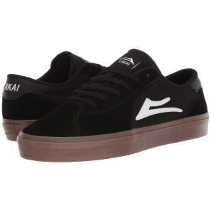 ラカイ Lakai メンズ シューズ・靴 Flaco II Black/Gum Suede|fermart-shoes