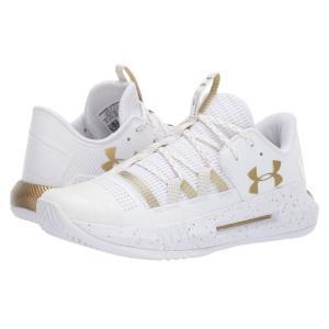 アンダーアーマー Under Armour レディース シューズ・靴 バレーボール UA Block City 2.0 White/Metallic Gold/Metallic Gold fermart-shoes