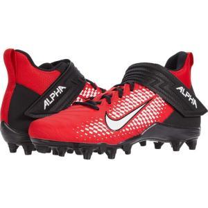 ナイキ Nike メンズ アメリカンフットボール シューズ・靴 Alpha Menace Varsity 2 University Red/White/Black|fermart-shoes