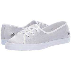 ラコステ Lacoste レディース スニーカー シューズ・靴 Ziane Chunky 119 3 Light Grey/White|fermart-shoes