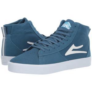 ラカイ Lakai メンズ シューズ・靴 Newport Hi Blue Suede|fermart-shoes