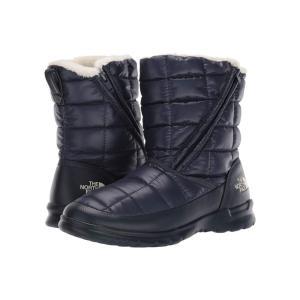 ザ ノースフェイス The North Face レディース ブーツ シューズ・靴 Thermoball Microbaffle Bootie Zip Urban Navy/Bone White fermart-shoes