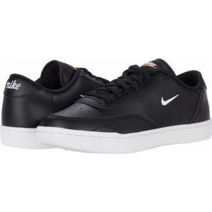 ナイキ Nike メンズ テニス シューズ・靴 Court Vintage Black/White/Total Orange fermart-shoes