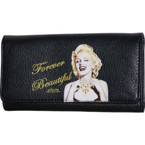 マリリンフォーエバービューティフル レディース 財布 Wallet MR0 Black|fermart-shoes