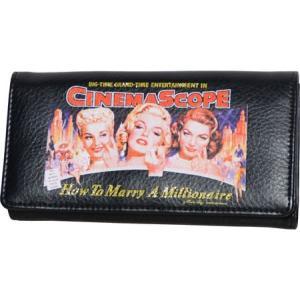 マリリンフォーエバービューティフル レディース 財布 Wallet MR910 Black|fermart-shoes