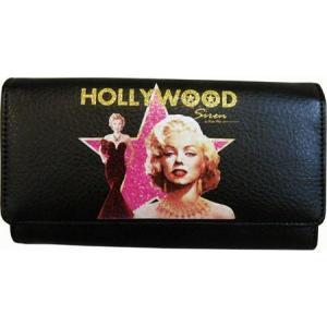 マリリンフォーエバービューティフル レディース 財布 Hollywood Siren Wallet MM1010 Black fermart-shoes