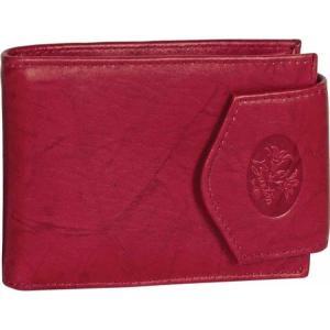 バクストン レディース 財布 Heiress Convertible Billfold Leather Wallet Red fermart-shoes