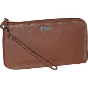 バクストン レディース 財布 Westcott RFID L-Zip Expandable Wallet Tan fermart-shoes