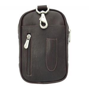 ピエルレザー メンズ スマホケース Utility Phone Case 5013 Chocolate Leather|fermart-shoes