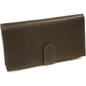 ピエルレザー メンズ 財布 Multi-Card Wallet 2857 Chocolate Leather|fermart-shoes