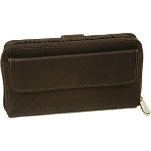 ピエルレザー メンズ 財布 Multi-Compartment Wallet 2861 Chocolate Leather|fermart-shoes