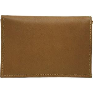 ピエルレザー メンズ 財布 Large Tri-Fold Wallet 2682 Saddle Leather|fermart-shoes