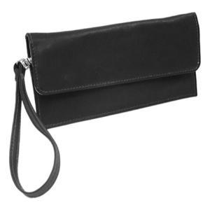ピエルレザー メンズ 財布 Travel Wallet 2855 Black Leather|fermart-shoes