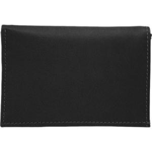ピエルレザー メンズ 財布 Large Tri-Fold Wallet 2682 Black Leather|fermart-shoes