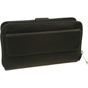 ピエルレザー メンズ 財布 Multi-Compartment Wallet 2861 Black Leather|fermart-shoes