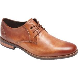 ロックポート メンズ 革靴・ビジネスシューズ シューズ・靴 Style Purpose Plain Toe Oxford Cognac Leather fermart-shoes