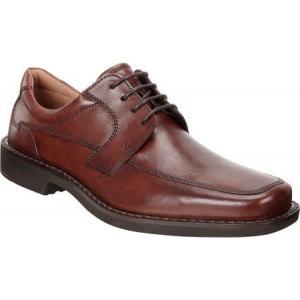 エコー メンズ 革靴・ビジネスシューズ シューズ・靴 Seattle Apron Toe Derby Cognac Leather|fermart-shoes