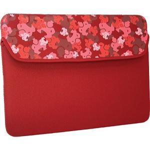 スモ レディース iPadケース Camo iPad Sleeve Red|fermart-shoes