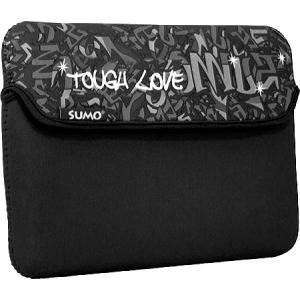 スモ レディース iPadケース Graffiti iPad Sleeve Black|fermart-shoes
