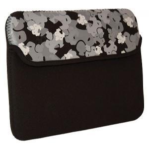 スモ レディース iPadケース Camo iPad Sleeve Black|fermart-shoes