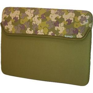 スモ レディース iPadケース Camo iPad Sleeve Green|fermart-shoes